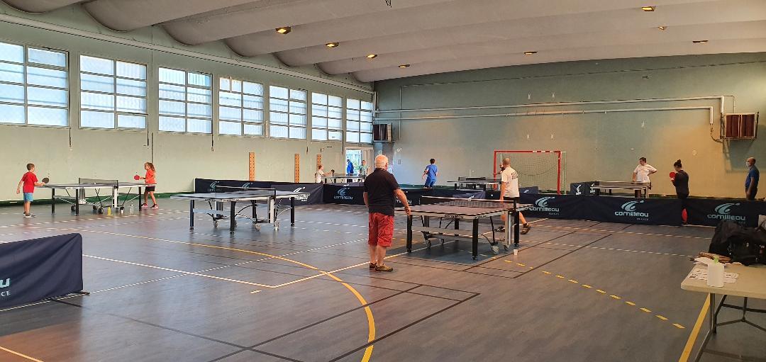 Reprise du tennis de table